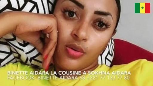 Sextape de binette aidara Cousine de Sokhna Aidara +221 77 133 77 80 binette.aidara.58