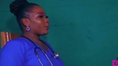 Moi et l'infirmiere