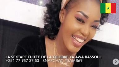 Sextape de la celebre animatrice Ya awa Rassoul samb de la SENTV